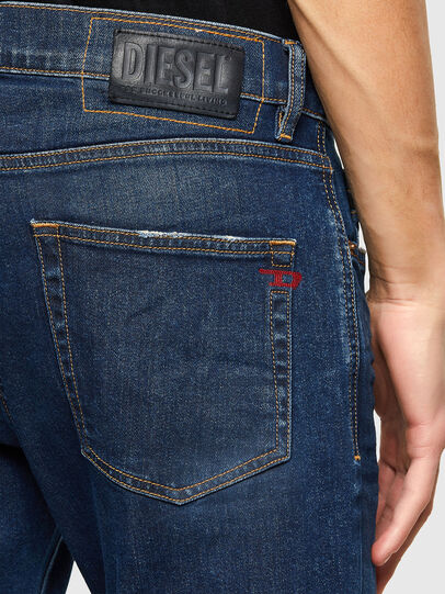 Diesel - D-Strukt Slim Jeans 009NV, Dark Blue - Jeans - Image 4