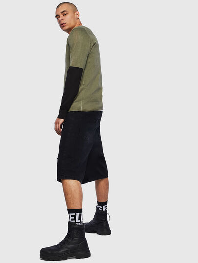 Diesel - K-PACHY, Military Green - Sweaters - Image 4