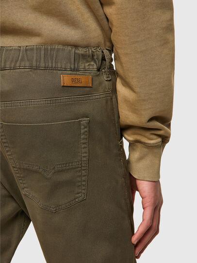 Diesel - Krooley Tapered JoggJeans® 0670M, Dark Green - Jeans - Image 3