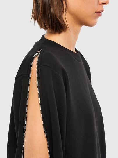 Diesel - F-ROSETTA, Black - Sweatshirts - Image 3