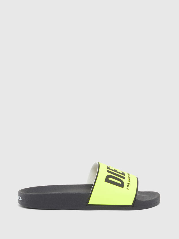 SA-VALLA, Black/Yellow - Slippers