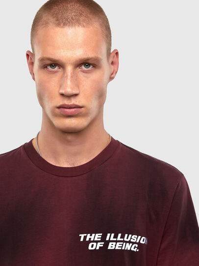 Diesel - T-JUST-N47, Brown - T-Shirts - Image 3