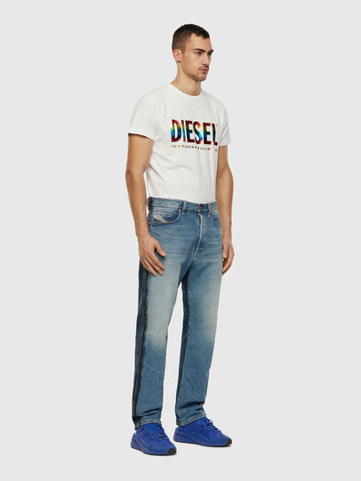 Diesel - BMOWT-DIEGO-NEW-P, White - T-Shirts - Image 3