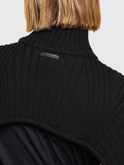 Diesel - M-BENAZIR, Black - Sweaters - Image 4