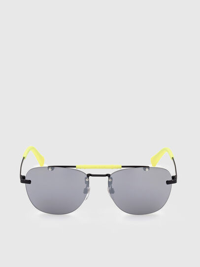 Diesel - DL0340, Black/Yellow - Sunglasses - Image 1