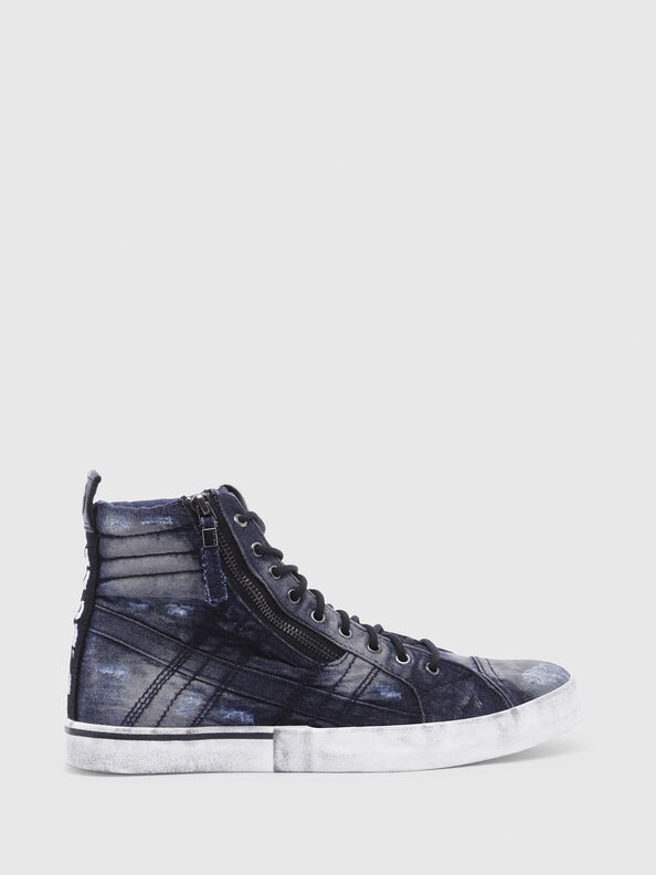 D-VELOWS MID LACE, Night Blue - Sneakers