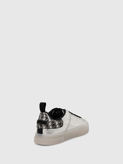 Diesel - S-CLEVER LOW LACE W, Silver - Sneakers - Image 4
