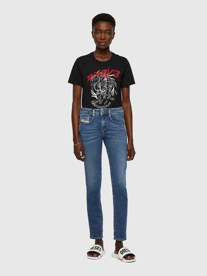 Diesel - D-Ollies Slim JoggJeans® 069XA, Medium Blue - Jeans - Image 5