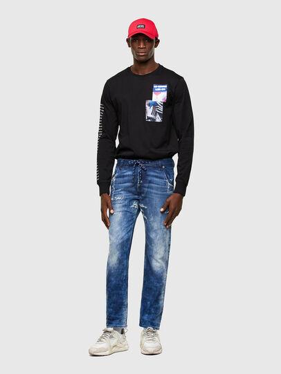 Diesel - Krooley JoggJeans® 009RU, Dark Blue - Jeans - Image 5