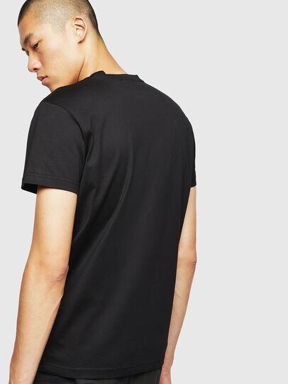 Diesel - T-DIEGO-B17, Black - T-Shirts - Image 2
