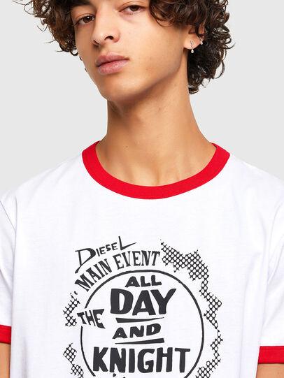 Diesel - T-DIERING-K10, White - T-Shirts - Image 3