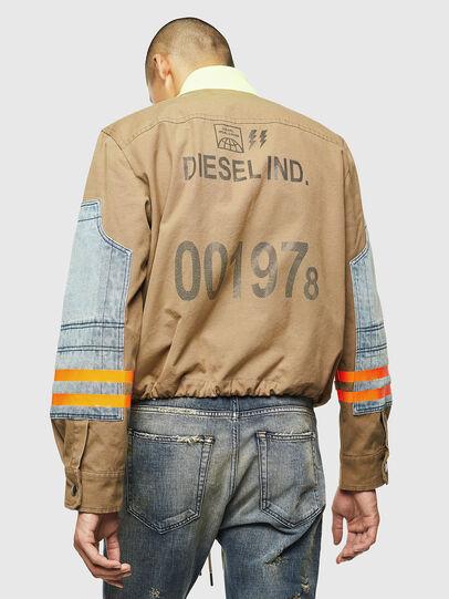 Diesel - J-STORCH, Beige - Jackets - Image 2
