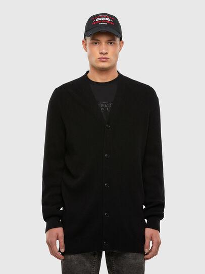 Diesel - K-ALEX, Black - Sweaters - Image 1