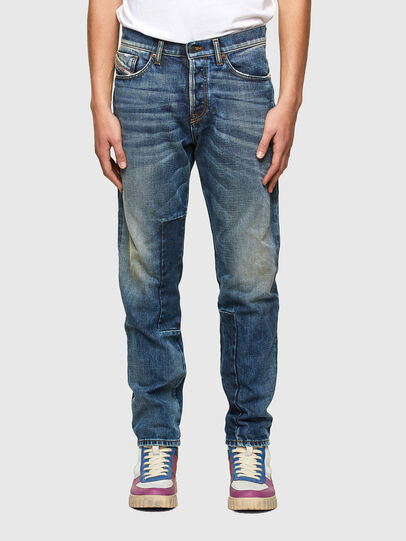 Diesel - D-Fining Jeans 009SV, Medium Blue - Jeans - Image 1