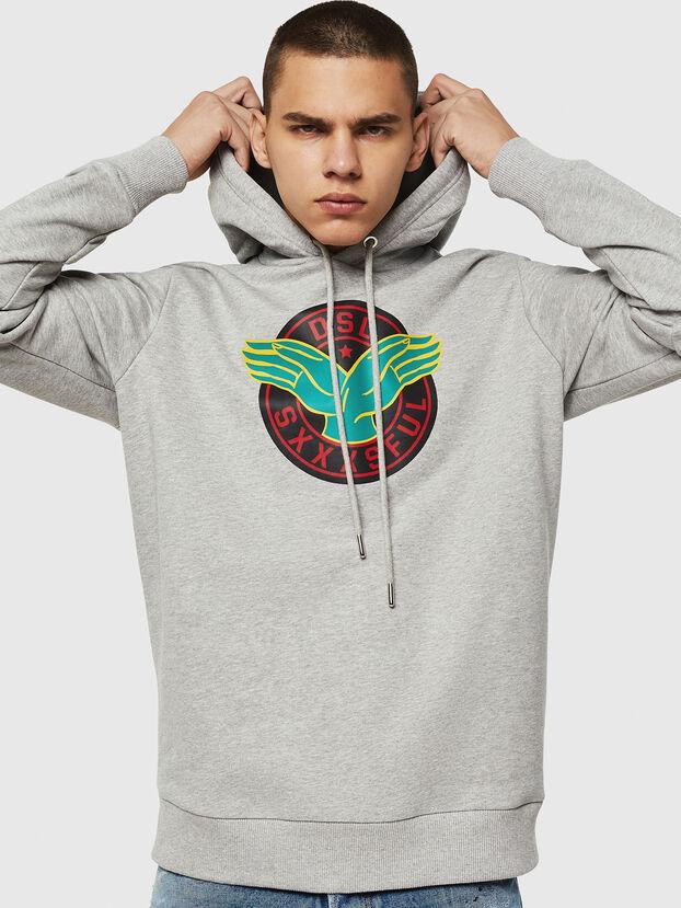 S-GIR-HOOD-B4,  - Sweatshirts