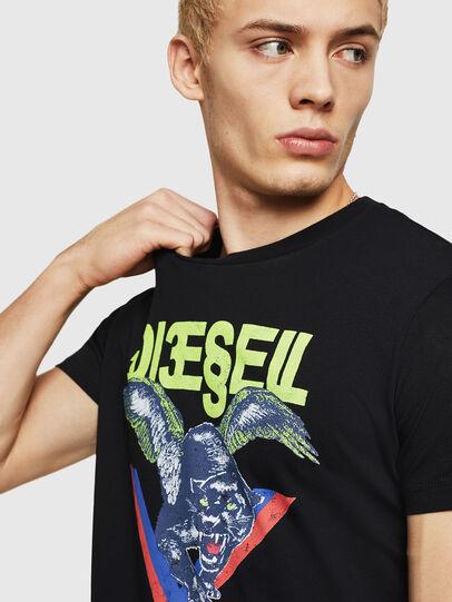 Diesel - T-DIEGO-A4, Black - T-Shirts - Image 3