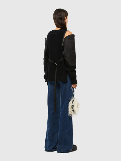 Diesel - D-Akemi Bootcut Jeans 009KE, Medium Blue - Jeans - Image 7