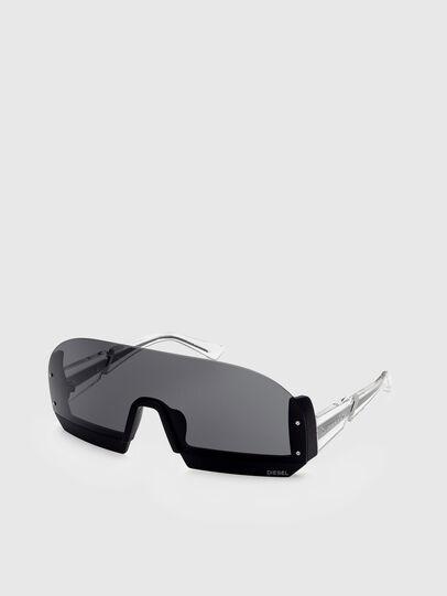 Diesel - DL0336, Black/White - Sunglasses - Image 2