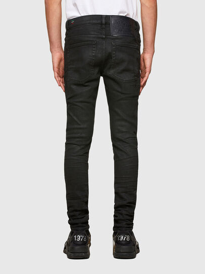 Diesel - D-Amny Skinny Jeans 009PZ, Black/Dark Grey - Jeans - Image 2