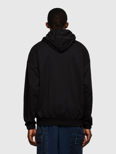 Diesel - S-BALIRIB, Black - Sweatshirts - Image 2