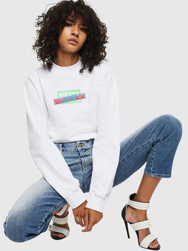 F-ANG-S1, White - Sweatshirts