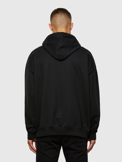 Diesel - S-UMMEREL, Black - Sweatshirts - Image 2