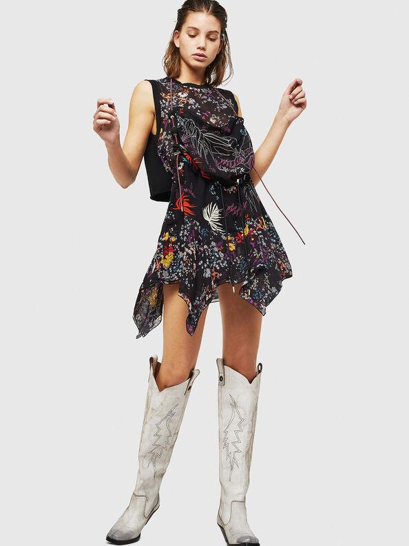 D-LYAN, Multicolor/Black - Dresses