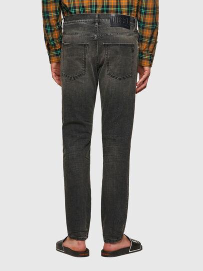 Diesel - D-Fining Tapered Jeans 09A73, Black/Dark Grey - Jeans - Image 2