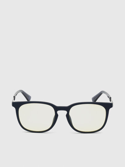 Diesel - DL0311, Dark Blue - Sunglasses - Image 1