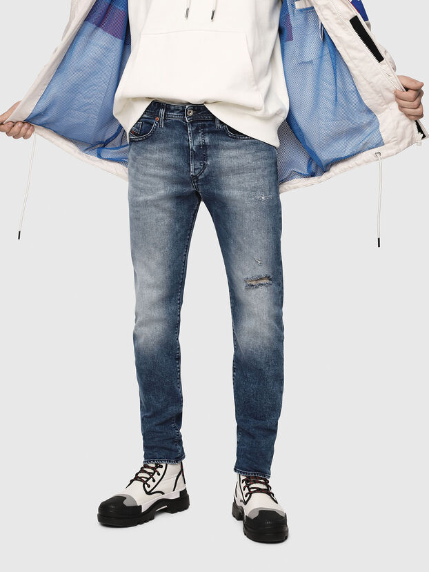 Buster 081AQ, Medium Blue - Jeans