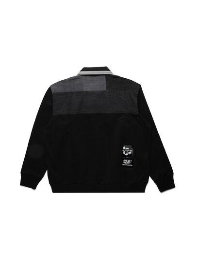 Diesel - D-BNHILL-S, Black - Sweatshirts - Image 2