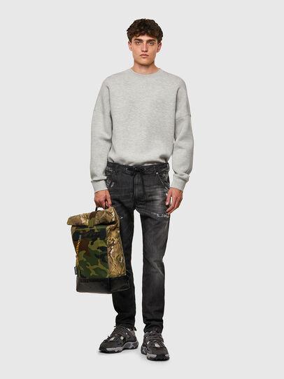 Diesel - Krooley Tapered JoggJeans® 09B53, Black/Dark Grey - Jeans - Image 5