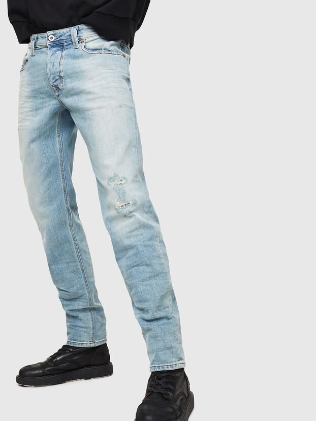 Larkee-Beex 087AX, Light Blue - Jeans