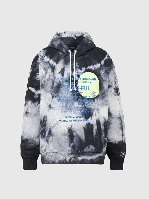 S-MOONY, Black/White - Sweatshirts
