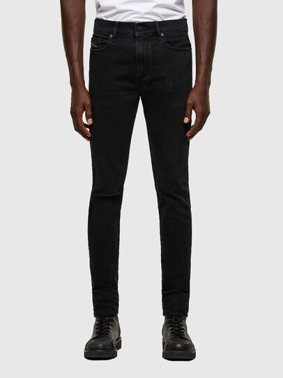 Diesel - D-Amny Skinny Jeans 084ZN, Black/Dark Grey - Jeans - Image 1