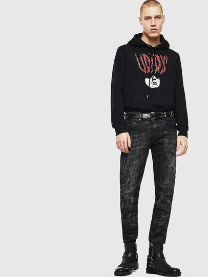 Diesel - S-GIRK-HOOD-J2, Black - Sweatshirts - Image 5