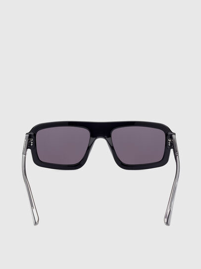 Diesel - DL0348, Black - Sunglasses - Image 4