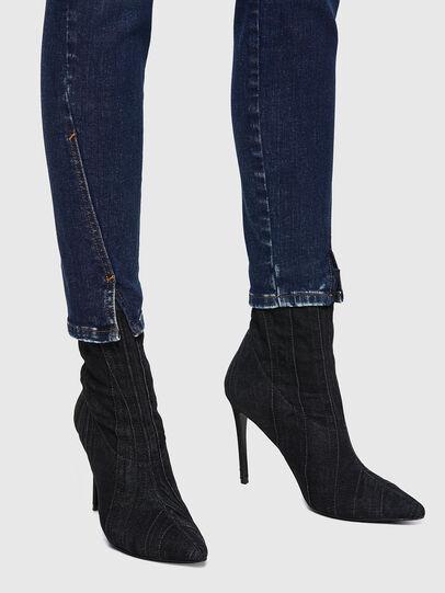 Diesel - D-Jevel Slim Jeans 09A30, Dark Blue - Jeans - Image 3