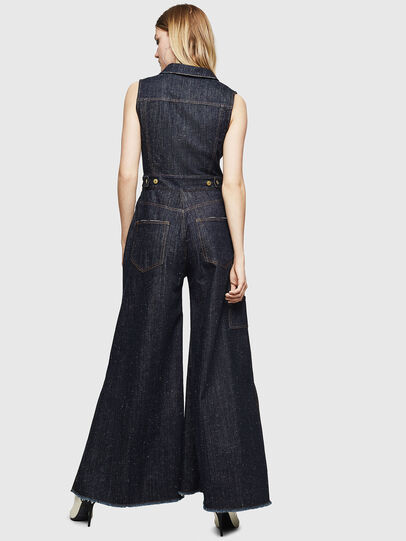 Diesel - DE-GRACE, Dark Blue - Jumpsuits - Image 2