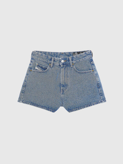 Diesel - D-ISI-SHORT, Light Blue - Shorts - Image 1