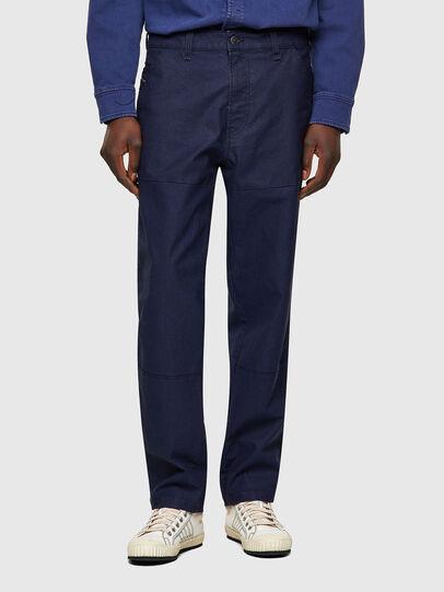 Diesel - D-Azerr Straight JoggJeans® 069WI, Medium Blue - Jeans - Image 1
