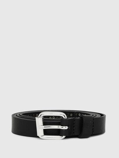 Diesel - B-MINISTUD, Black - Belts - Image 1