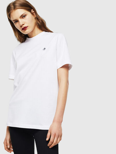 Diesel - T-JUSTY, White - T-Shirts - Image 3