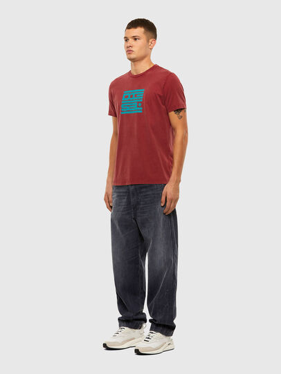Diesel - T-DIEGOS-N31, Red - T-Shirts - Image 4