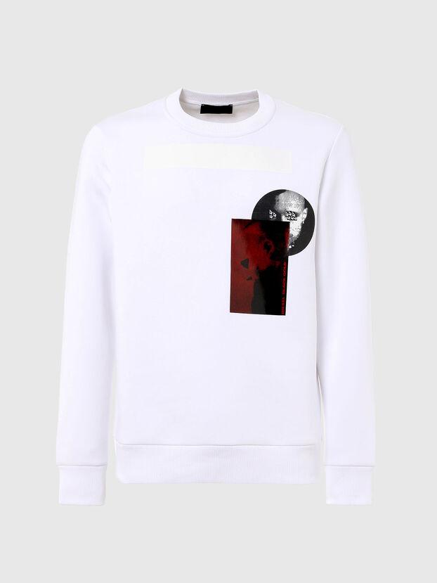 S-ARGON-A, White - Sweatshirts