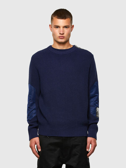 Diesel - K-GILLING, Blue - Sweaters - Image 1