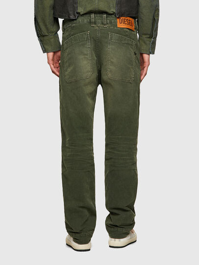 Diesel - D-Azerr Straight JoggJeans® 069WH, Military Green - Jeans - Image 2