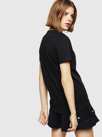Diesel - T-SILY-WR, Black - T-Shirts - Image 2