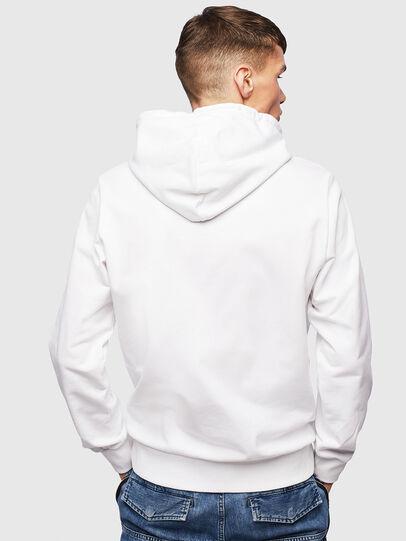 Diesel - S-GIRK-HOOD-S1, White - Sweatshirts - Image 3