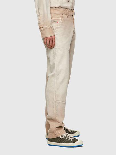 Diesel - D-Azerr Straight JoggJeans® 069WG, White - Jeans - Image 7
